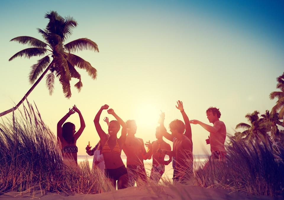 Beach, Party, Family