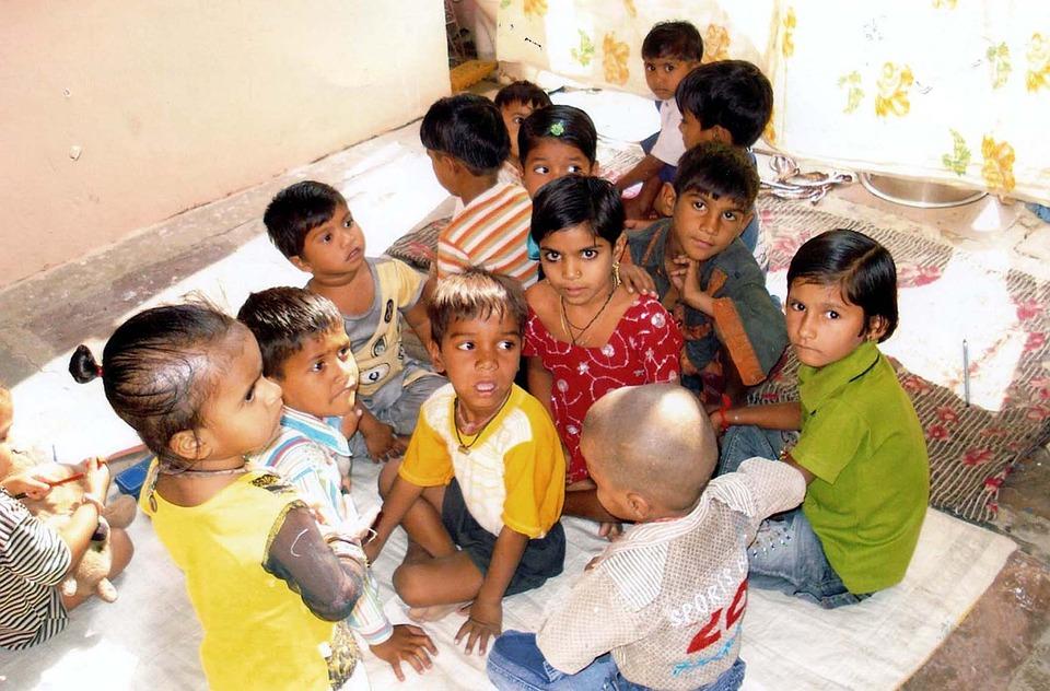 India, Kids, Asian, Child, Family, Children