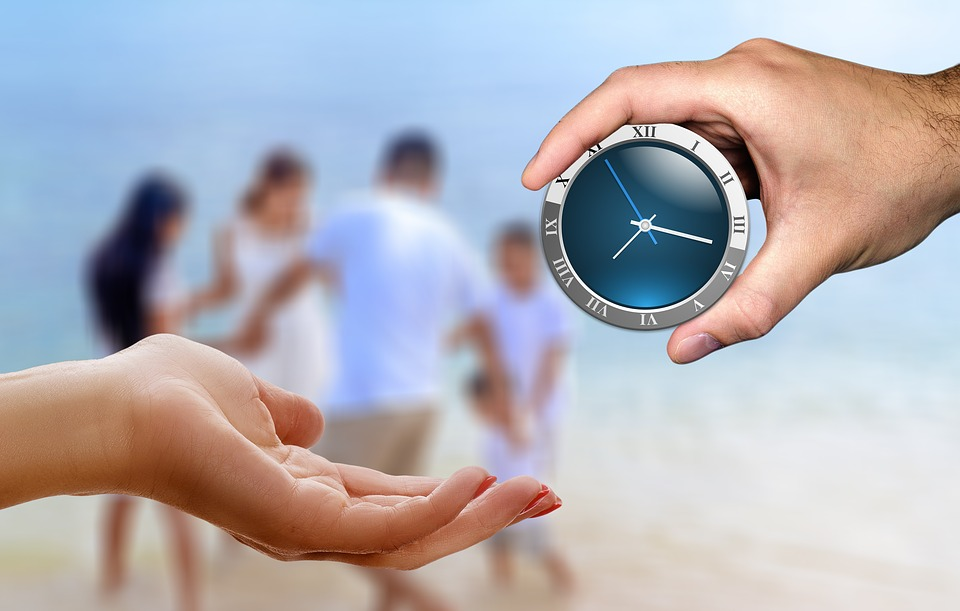 Family, Time, Give, Take, Gift, Clock, Play, Employment