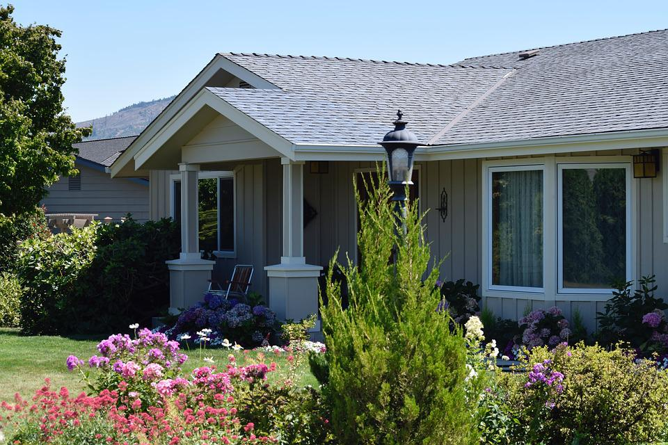 Grandparents, House, Family Home, Garden