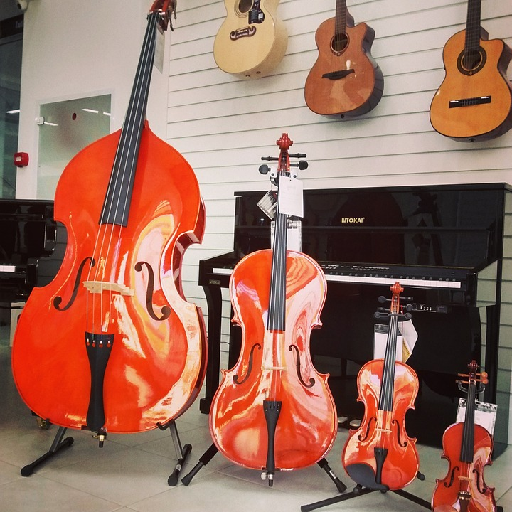 Free photo Family Of Strings Violin Shop Viola Cello - Max Pixel