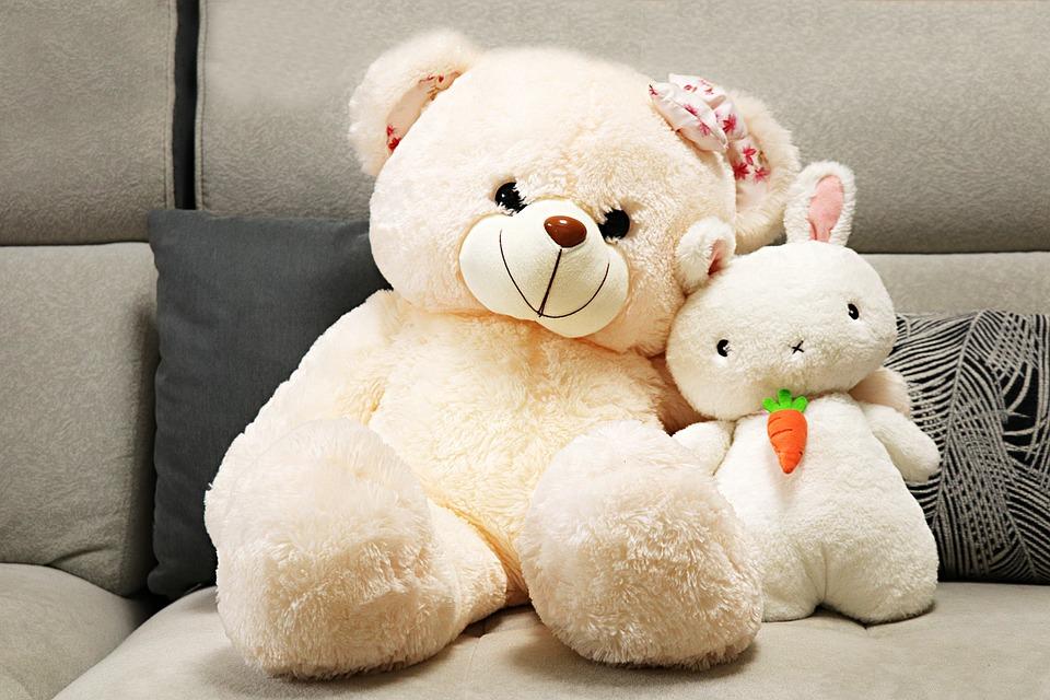 Toys, Teddy Bear, Family, Cute, Plush Toys, Child