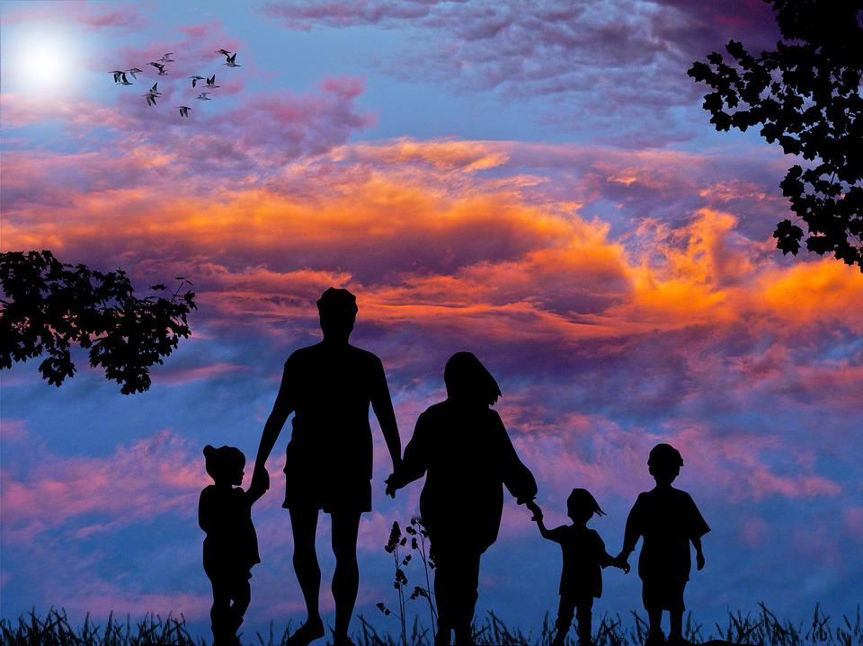 Family, Holiday, Together, Leisure, Summer, Child