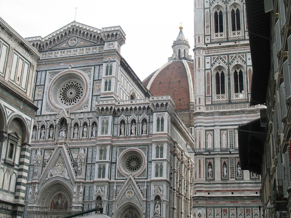 Italy, Florence, Church, Cathedral, Famous, Dome