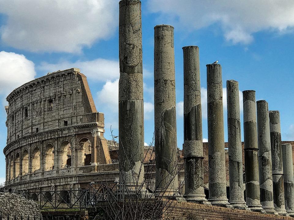 Rome, Architecture, Travel, Ancient, Roman, Famous