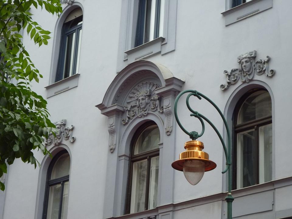 House, Kandelláber, Window, Fancy