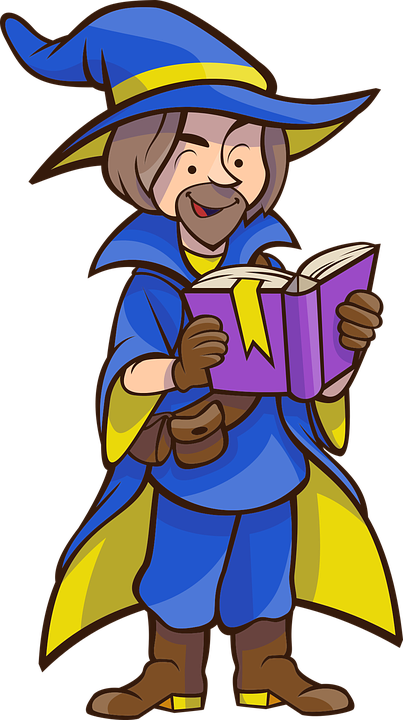 Wizard, Book, Hat, Reading, Spell, Fantasy, Mystery