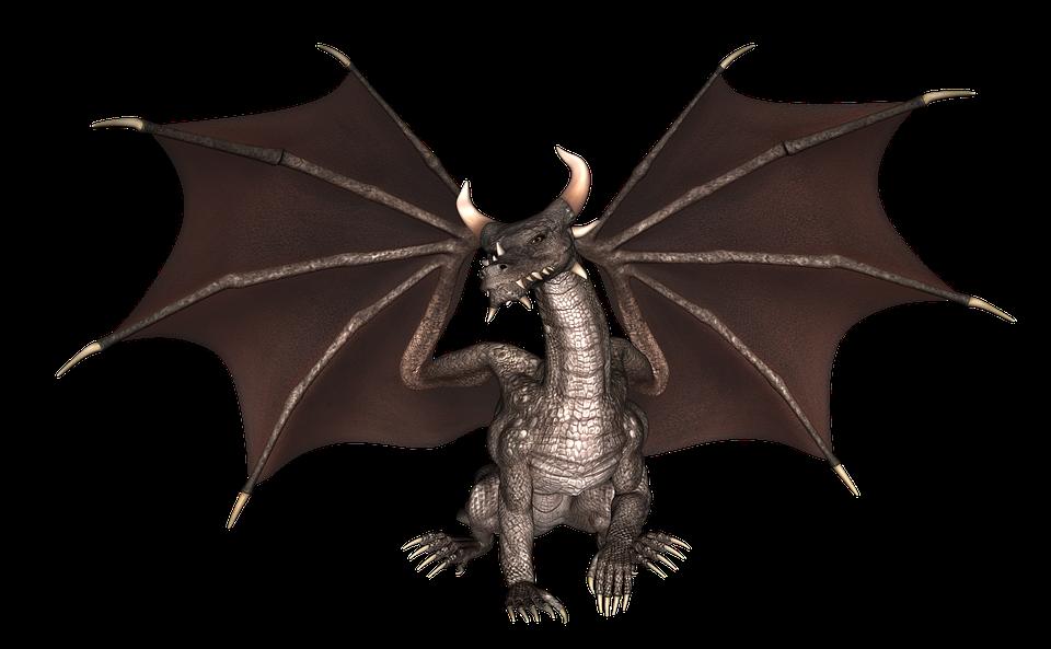 Free photo Fantasy Fairytale Reptile Mythology Monster