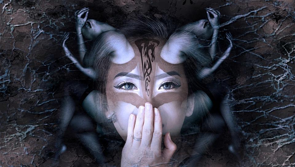 Fantasy, Portrait, Woman, Mystical, Face, Sensual