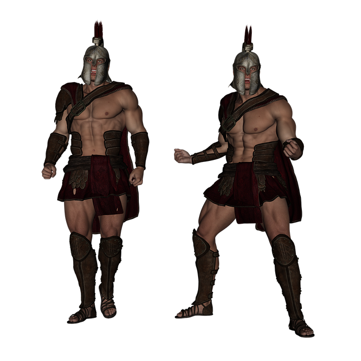 Centurion, Warrior, Fantasy, Soldier, Greek, Roman