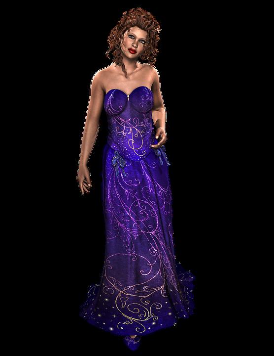 Fae, Woman, Dress, Fantasy, Render, 3d, Fairytale, Girl