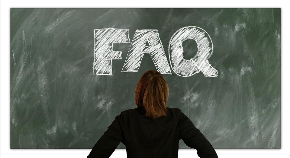 Faq, Questions, Often, Woman, Board, School, Teaching