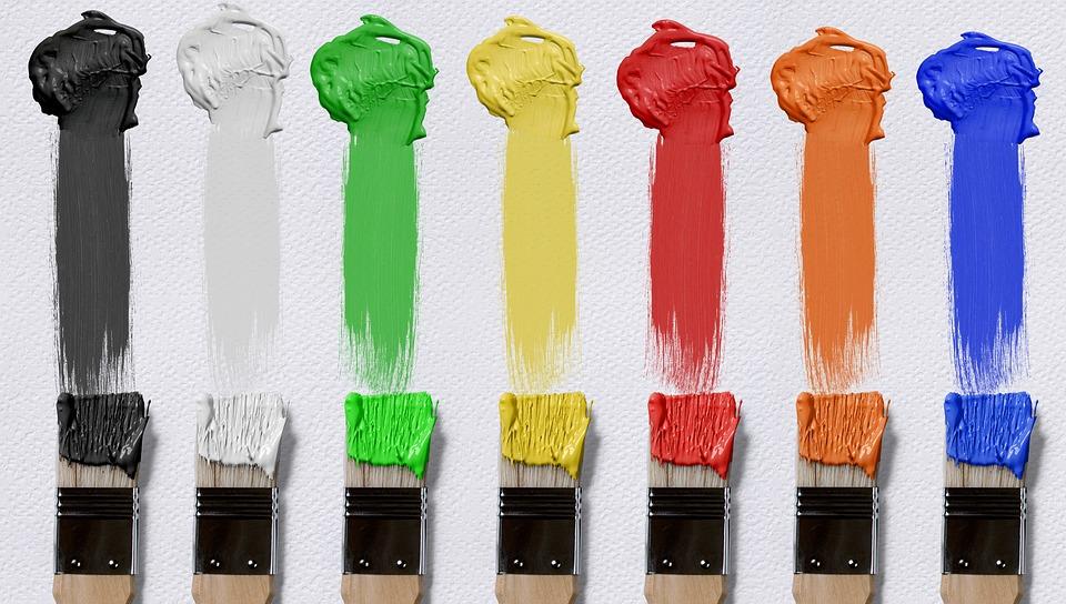 Brush, Color, Canvas, Farbkleckse, Brush Strokes