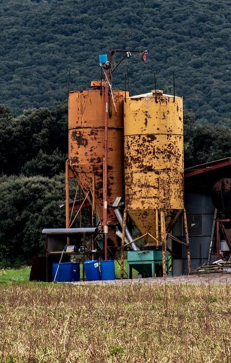 Farm, Silos, Farm Equipment, Farm Storage