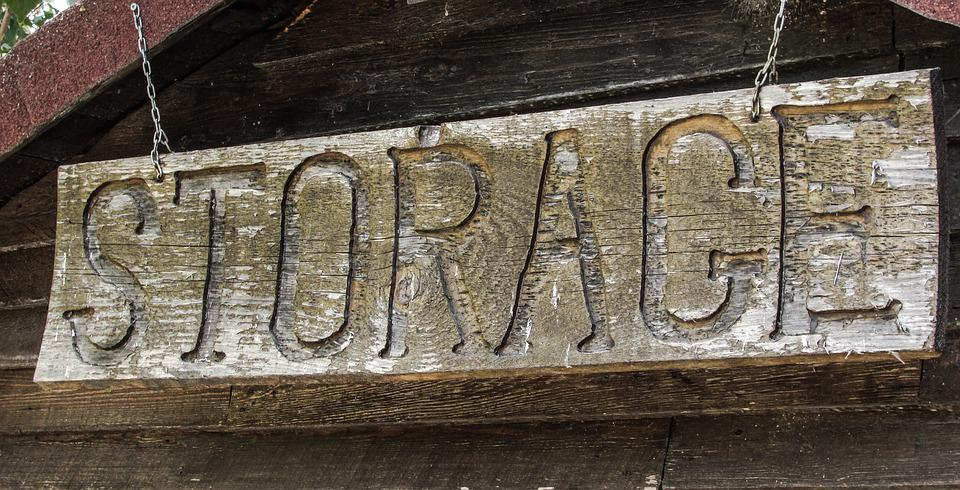 Storage, Sign, Wooden, Farm, Store