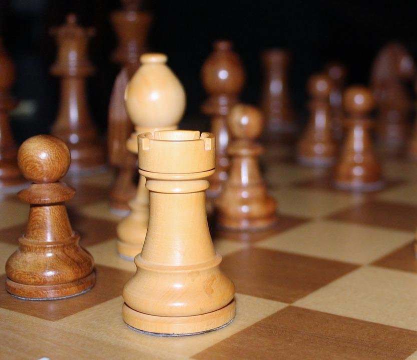 Chess, Chess Game, Farmers, King, Lady, Runners