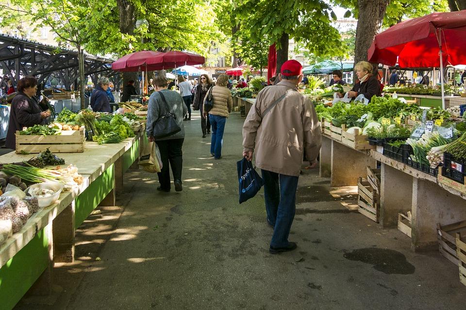 Market, Vegetable Market, Farmers Local Market