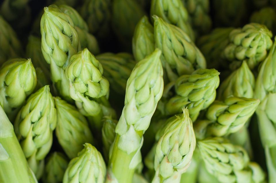 Green, Cooking, Asparagus, Farmers Market
