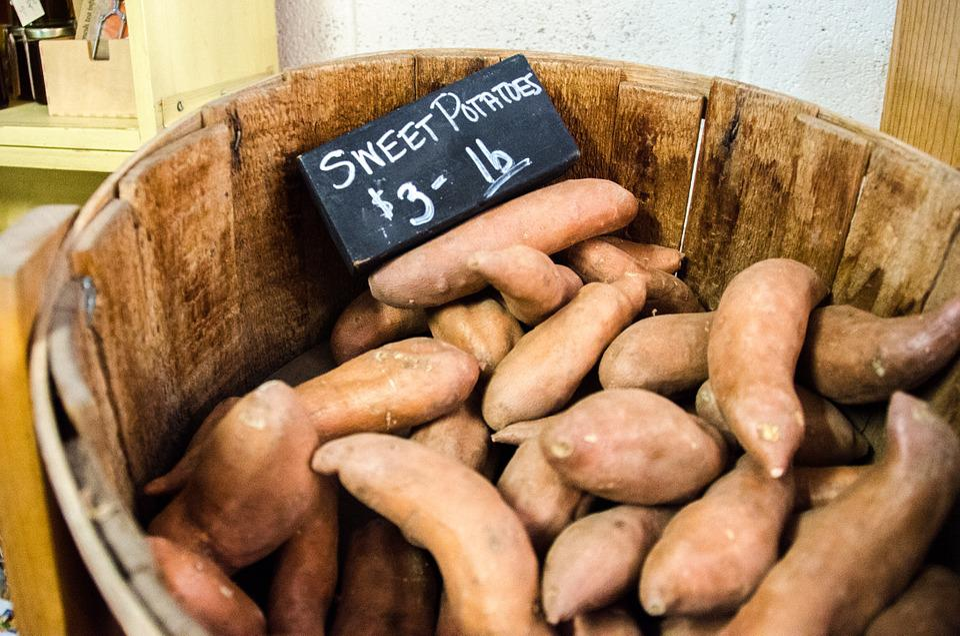 Sweet Potatoes, Farmers Market, Sweet Potato, Food