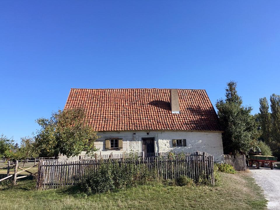 House, Farm, Museum, Truss, Farmhouse, Building