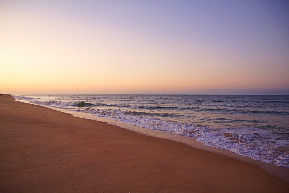 Faro, Portugal, Algarve, Most Beach, Atlantic Coast