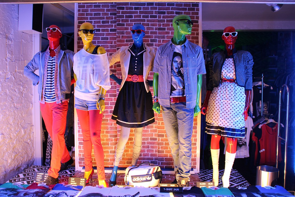 Window, Group, Color, Clothing, Fashion