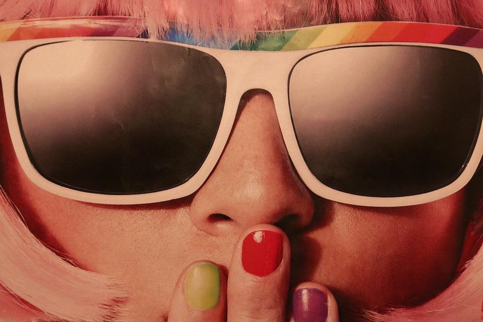 Woman, Sunglasses, Shades, Eyewear, Fashion, Beauty