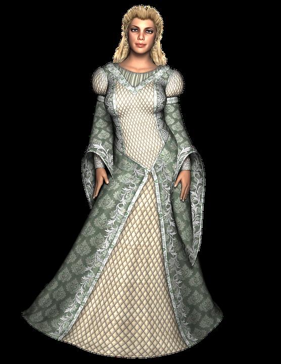 Lady, Woman, Gown, Female, Girl, Portrait, Fashion