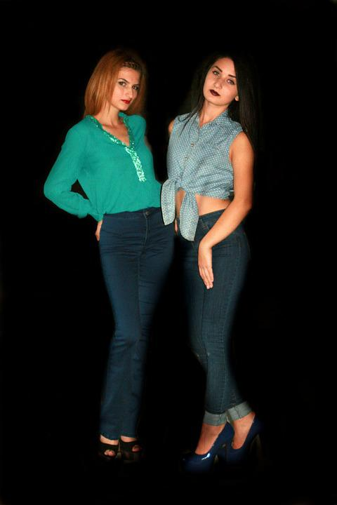 Girls, Fashion, Seduction, Beauty, Jeans, Girl