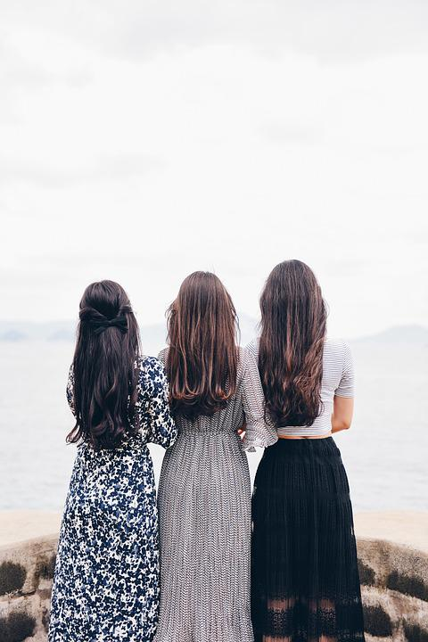 Women, Back, Fashion, Hair, Long Hair, Hairstyles