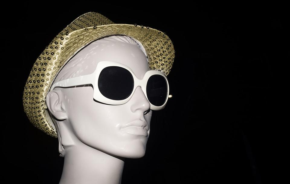 Mannequin, Sunglasses, Hat, Fashion, Design, Clothing