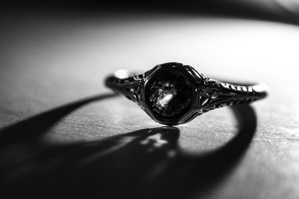 Monochrome, Ring, Fashion Jewellery, Female, Wear