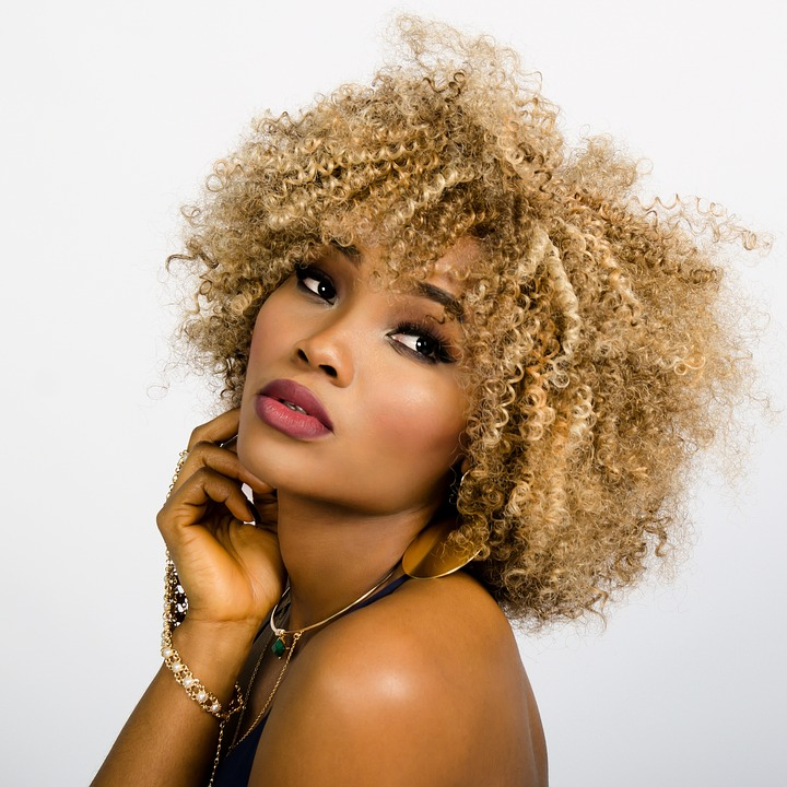Woman, Face, Curly, Hair, Fashion, Girl, Model