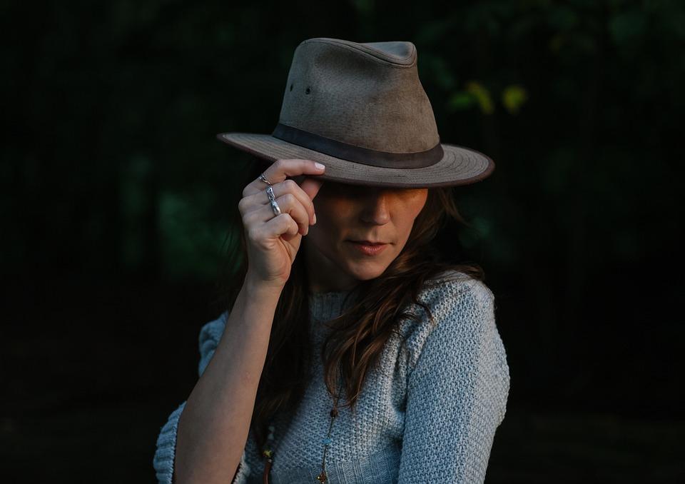 Fashion, Girl, Hat, Model, Person, Woman