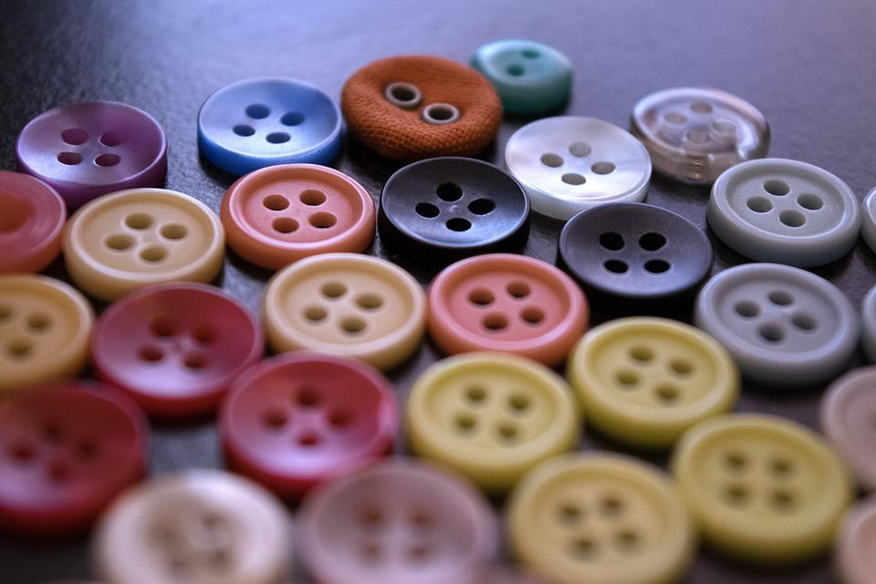 Buttons, Sewing, Fashion, Sew