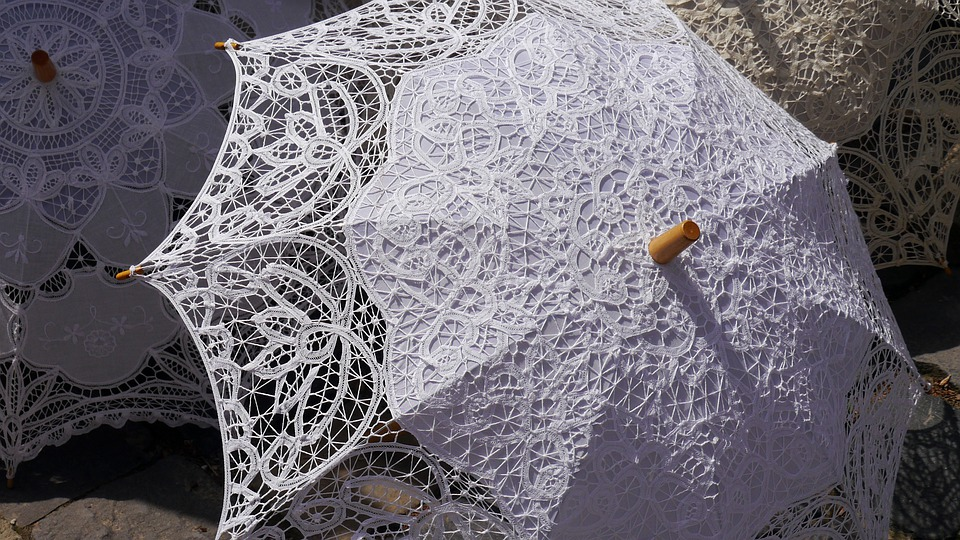 Sun Umbrellas, Lace, Fashion