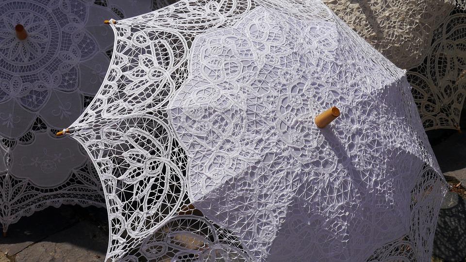 Sun Umbrellas, Lace, Fashion