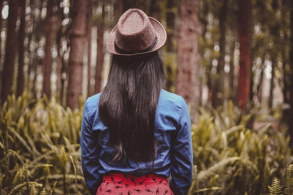 Fashion, Forest, Girl, Person, Trees, Woman, Woods