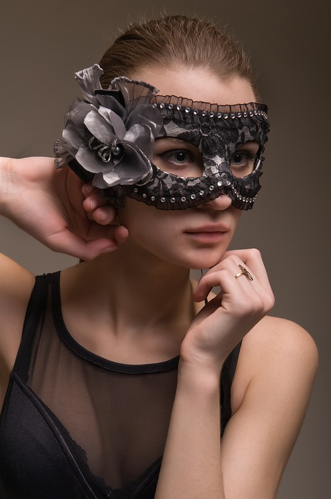 Fashion, Person, Woman, Young, Charm, Mask, Lovely