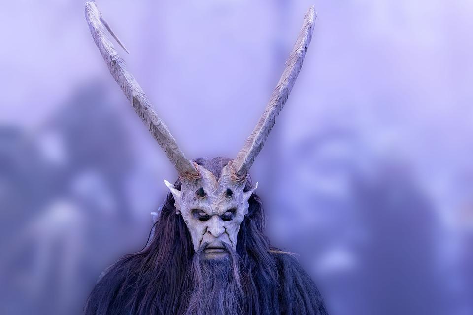 Mask, Daemon, Fasnet, Creepy, Winter Drive, Satyr