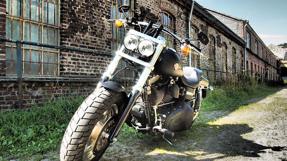 Harley, Fat Bob, Factory