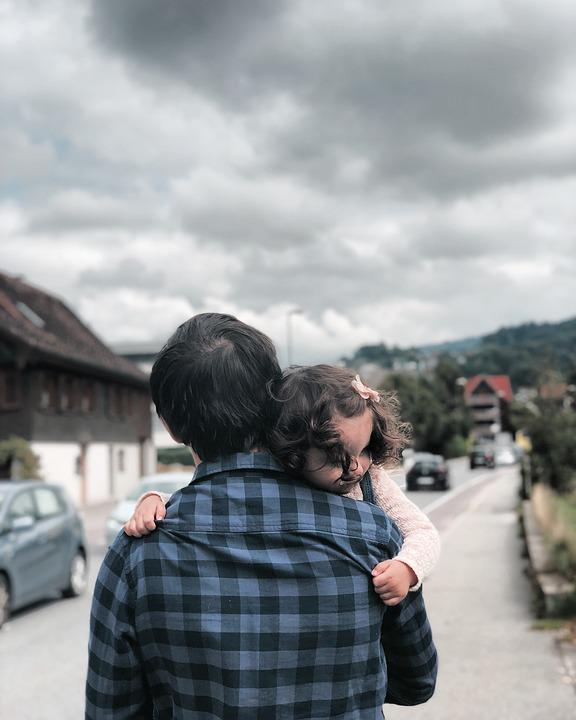 Dad, Daughter, Child, Father, Boy, However, Love