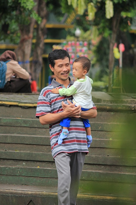 Gender, Father, Son, Outdoor, Love