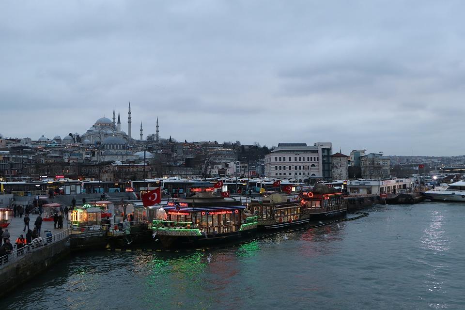 Eminönü, Süleymaniye, Boat, Fisherman, Fatih, Istanbul