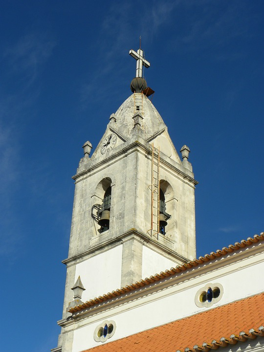 Portugal, Fatima, Church Steeple, Dome, Architecture
