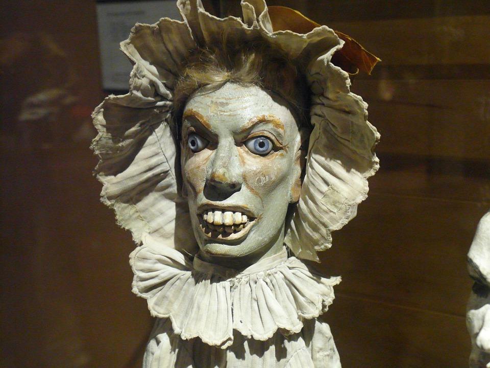 Puppet, Fear, Character Cardboard