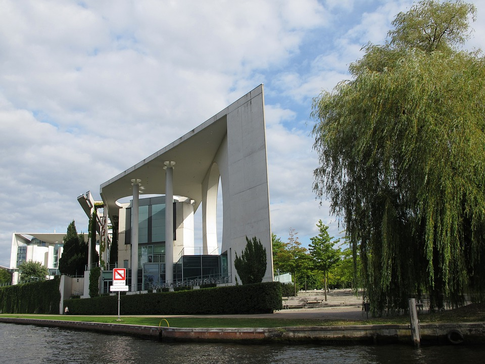 Federal Chancellery, Government, Berlin, Germany