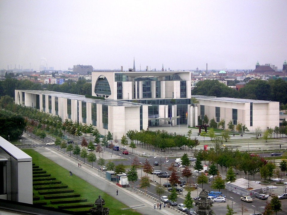 Federal Chancellery, Office Complex