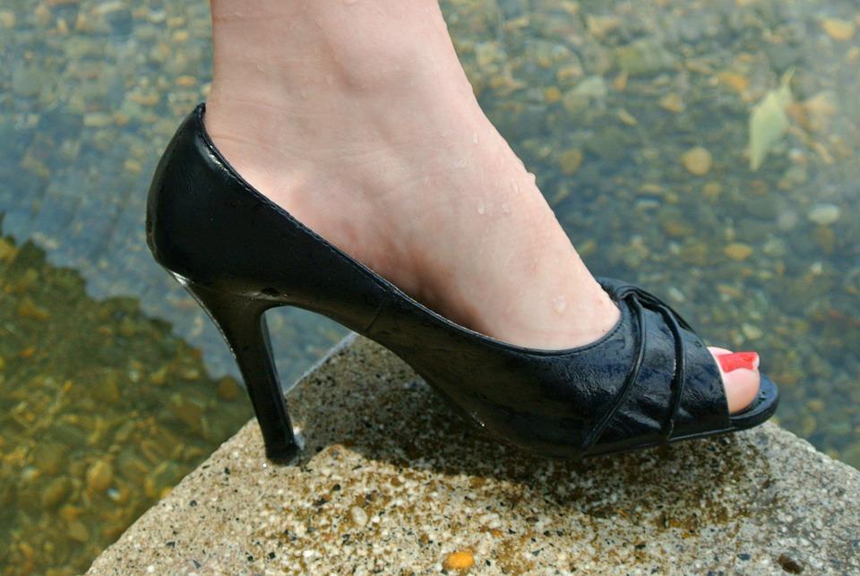 Feet, Ladies, Sexy, Water, Clothing, High Heels