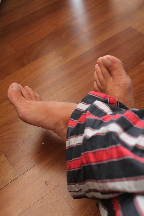 Feet, Pajamas, Parquet, Summer, Nails, Legs
